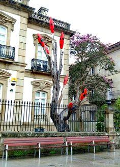 Pontevedra. Paisaje urbano.