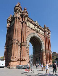 Oriol Bargalló: Arc de Triomf de Barcelona