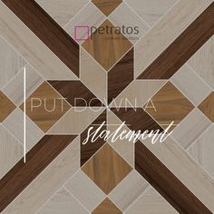 Put down a statement. • Contact our #PetratosShowroom to find the ideal #FlooringSolution for your needs. • Επικοινωνήστε με την έκθεση #ΠετράτοςΔάπεδα για να σας βοηθήσουμε να διαλέξετε το ιδανικό #Δάπεδο για τις ανάγκες του #Σπιτιού και της #Επιχείρησης σας. * * * * * #PetratosFlooringSolutions #PetratosFlooring #Δάπεδο #ΔάπεδοΠετράτος #ΔάπεδαΠετράτος #Flooring #ContractFlooring #ContractFlooringSolutions #LuxuryFlooring #FlooringIdeas #FlooringDesign #FlooringSolutions Flooring, Wood Flooring, Floor