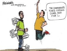 In light of the events of June, sociologist Philip Cohen reviews the research on how to best keep social movement momentum by balancing hope and despair. Cartoon by http://www.ajc.com/photo/news/opinion/luckovich-cartoon-disconnect/pChMRM/.