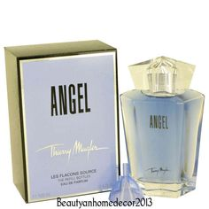Angel Eau De Parfum Refill By Thierry Mugler, Not every perfume is as painstakingly created as this one. Only the best are created by experts in laboratories and tested over and over again until they are perfect. One such brand of perfume is Angel. Angel Fragrance, Angel Perfume, Bath & Body Gift Sets, Bath And Body, Mugler Angel, Thierry Mugler, Manicure And Pedicure, Perfume Bottles, Eau De Toilette