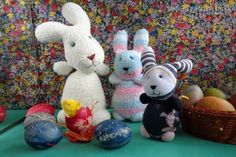 Ponožkový zajac (fotopostup)