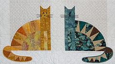 Free Kittens (Carolyn Palone). My mother did a full size quilt for my husband with this pattern.