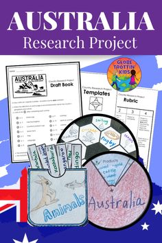 Australia Research Project Distance Learning Map Activities, Teaching Activities, Teaching Tools, Teaching Kids, Geography For Kids, Teaching Geography, Australia For Kids, Cooperative Learning Groups, Multicultural Classroom