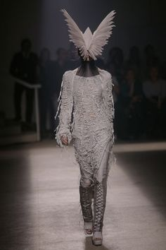 Is Life a Masquerade or is it Bird Envy.  I don't know!  Thank you Gareth Pugh.