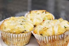 A moist cheese, chive onion muffin that is a great savoury start to the day. Baked with coconut flour these low carb & gluten free muffins are very moreish. Muffin Recipes, Baking Recipes, Real Food Recipes, Scd Recipes, Real Foods, Paleo Baking, Yummy Food, Cookbook Recipes, Yummy Recipes