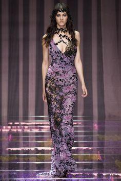 Versace Couture Fall 2015 Model: Greta Varlesa