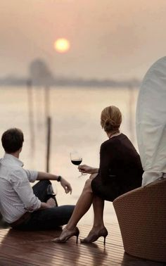 A Fine Romance - Share a glass of red at sunset with someone special.