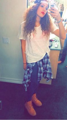 Mahogany *LOX* love how she can change her style whenever she wants!!! It could be girly then change to edgy in 5 seconds!!!