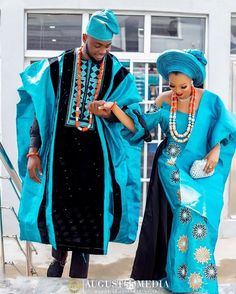 Are you planning your own traditional wedding this year, or a guest for that glam wedding? Take a moment, browse through our latest Asoebi Styles collection Couples African Outfits, African Lace Dresses, Latest African Fashion Dresses, African Print Fashion, Nigerian Men Fashion, Couple Outfits, Nigerian Wedding Dresses Traditional, Traditional Wedding Attire, African Traditional Dresses