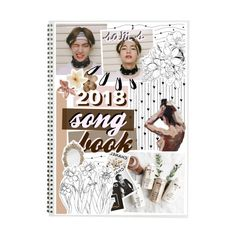 """""""2018 songbook"""" by taeangel ❤ liked on Polyvore featuring art"""