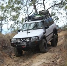 1999 Nissan Patrol GU Build by Munter Best 4x4 Cars, Nissan Patrol Y61, Nissan 4x4, Nissan Terrano, Overland Truck, Car Painting, Sexy Cars, Future Car, Offroad