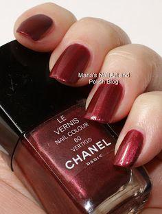 Chanel Vertigo 60 swatches - vintage