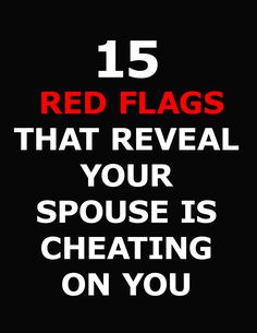 Of course you trust your guy! He'd never cheat. Or would he? Men give off signals that they'll be unfaithful, relationship experts say. Find out the top 15 clues that your guy will cheat on you…   #cheat #relationshipquotes #cheating #partners #couple #corona #spouse Deep Relationship Quotes, Red Flag, Trust Yourself, Cheating, Couple, Guys, Sayings, Top, Corona