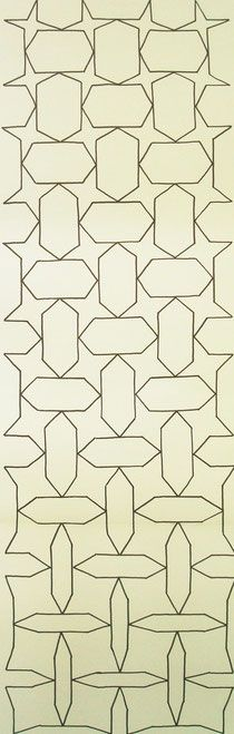 Design of a slowly changing pattern in collaboration with Dutch students, 2011