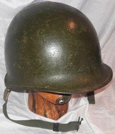 M1 Helmet, Combat Helmet, Helmets For Sale, Korean War, Ww2, The Unit, Ebay