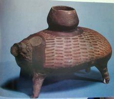 Vase in form of porcupine, Arpachiya (near Nineveh), Tell Halaf period, c. 5400 BCE
