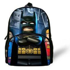 12-inch Mochial Batman Bag Indiana Jones Iron Man Star Wars Backpack Kids Bags Boys Shoulder Bag Children School Backpack