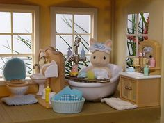 Calico Critters bathroom. Got this!