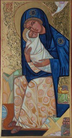 Icon: The Nativity by Anna Boiko