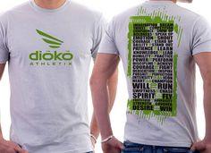 Dioko Athletix T-Shirt by MycroBurst designer akosiaki.