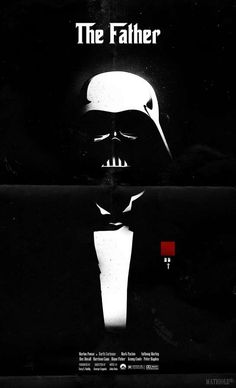 Docking Bay 94: Vader Godfather poster by Mathiole