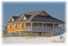 Destin beach house- this would be a dream vacation house.
