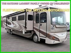 13 Fleetwood Expedition 38B Class A Diesel Motorhome RV Camper Coach Bunk Beds