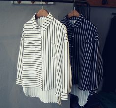 All Directions Stripe Blouse
