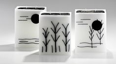 candele linea design - candele black and white
