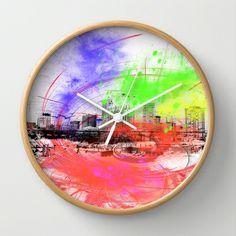 Skyline Wall Clock by Fine2art - $30.00