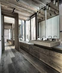 rustic modern bathrooms - Google Search