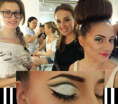 Nos pasamos el día haciendo lo que más nos gusta... #maquillar #maquillaje #makeup