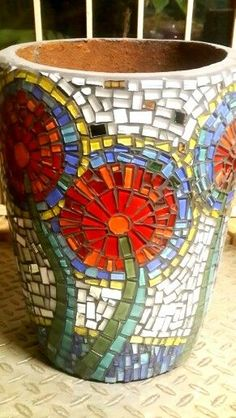 Image result for mosaic pots