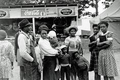 AA Day At The Fair | 1941 A family attending the Greene County fair in Greensboro, Georgia, 1941. Vintage African American photography courtesy of Black History Album, The Way We Were. Day At The Fair | 1941