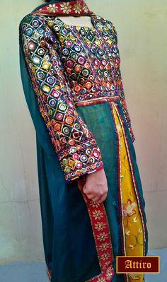 Beautiful Balochi dress https://www.facebook.com/AttirobyAnikaAnwar