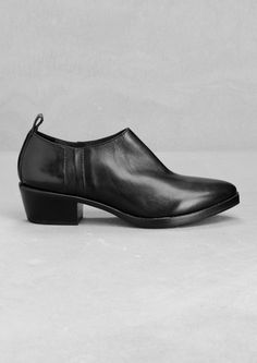 & Other Stories | Low leather ankle boots