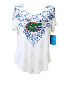 Florida Gators Women's Victorian Print Dolman Sleeve