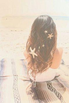Mermaid starfish hair