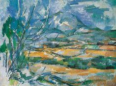 Paul Cézanne - La mont Sainte-Victoire