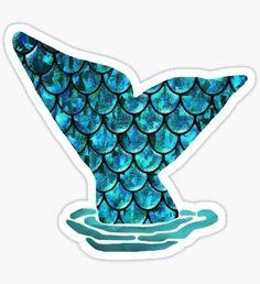 Mermaid Tail  Sticker