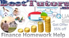 Finance Homework Help – Best Tutors is a great academic portal. It has abstract experts who are always arranged to help the students thorough their finance assignments.