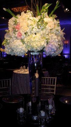 hydrangea - Centerpiece Wedding Flowers Photos & Pictures - WeddingWire.com