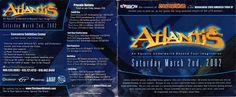 Atlantis 2002 @ The Concourse., San Francisco (Front)