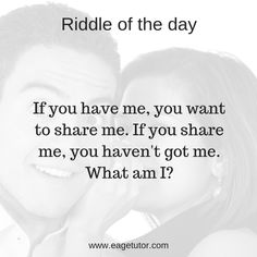 Riddle of the day! Speak English Fluently, English Speaking Skills, English Language Learning, English Lessons, English Vocabulary, Learn English, English Communication Skills, Effective Communication