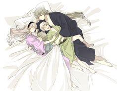 Fire Emblem: If/Fates - Kisaragi, Takumi, Kanna and Kamui