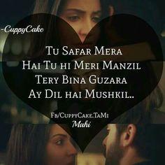 Ae Dil Hai Mushkil ❤❤ Hindi Quotes, Words Quotes, Best Quotes, Life Quotes, Maya Quotes, Sayings, Cool Lyrics, Love Songs Lyrics, Music Lyrics