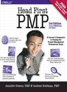 Download Head First PMP 3rd Edition eBook PDF | IT ebooks