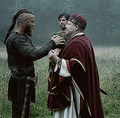 Ragnar Mocking the Bishop of Wessex - GIF on Imgur