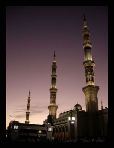 Nabawi Mosque, Madinah - hope to be back there again soon